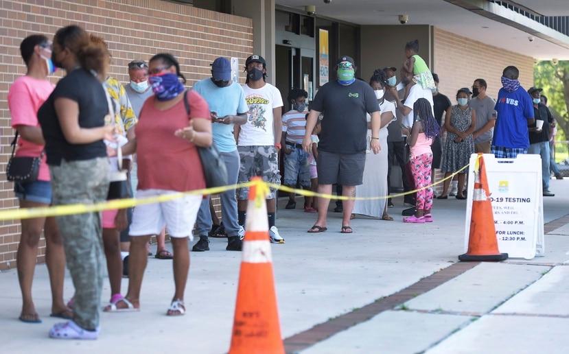 Florida rompió este fin de semana récords de contagios y hospitalizados por COVID-19.