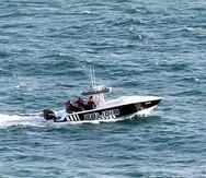 Embarcación de la Policía de Puerto Rico.