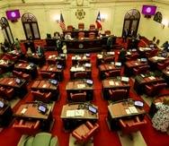 The Senate of Puerto Rico.
