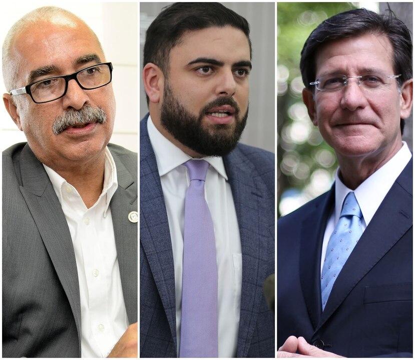 Raúl Maldonado, Anthony Maceira, Luis Rivera Marín y Ricardo Llerandi. (GFR Media)