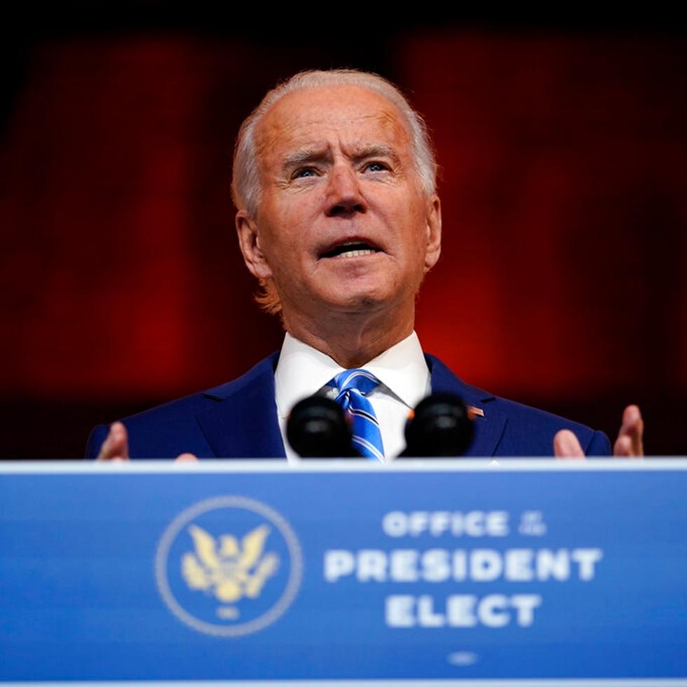 Joe Biden exhorta al Congreso a aprobar un proyecto de estímulo económico robusto