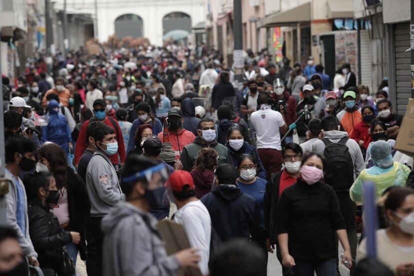 Perú es el quinto país con más casos de COVID-19.