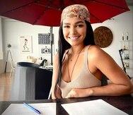 La puertorriqueña Kiara Liz Ortega se mantenida sumamente ocupada laboralmente durante el 2021.