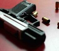 En la escena se recuperó un arma de fuego.