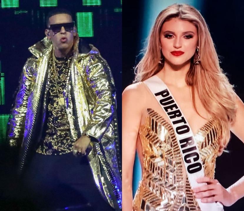 Daddy Yankee dijo en su concierto que espera que Madison Anderson acuda a una de sus funciones en el Choliseo. (GFR Media)