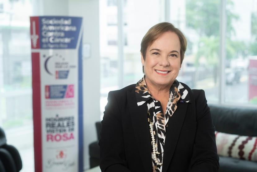 María Cristy, vicepresidenta de Servicios al Paciente, Control de Cáncer y Política Pública de la SACCPR.