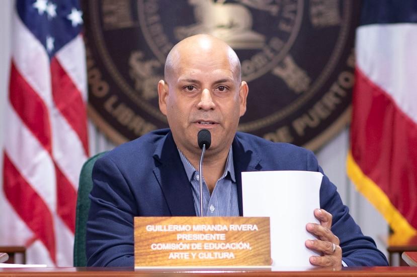 El representante Guillermo Miranda. (GFR Media)