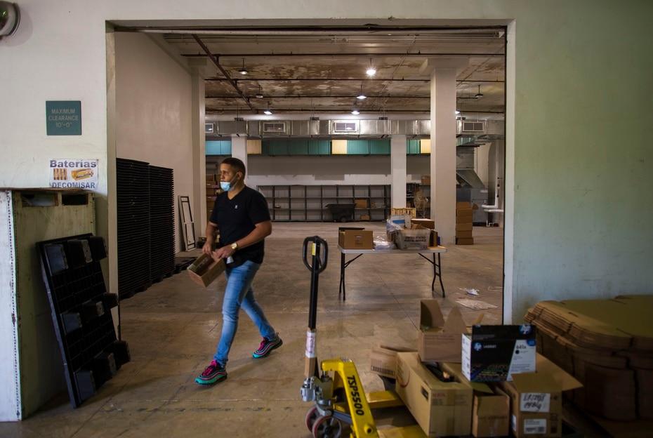 En el edificio de Operaciones Electorales, ubicado en Hato Rey, hay cuatro bóvedas, pero solo se usan dos para resguardar material eleccionario.