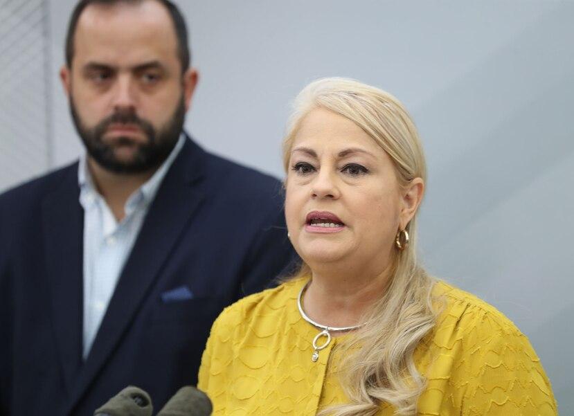 La gobernadora Wanda Vázquez.