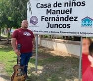 Juan Luis Hernández Resto fue acogido por la Casa de niños Manuel Fernández Juncos cuando tenía 10 años.