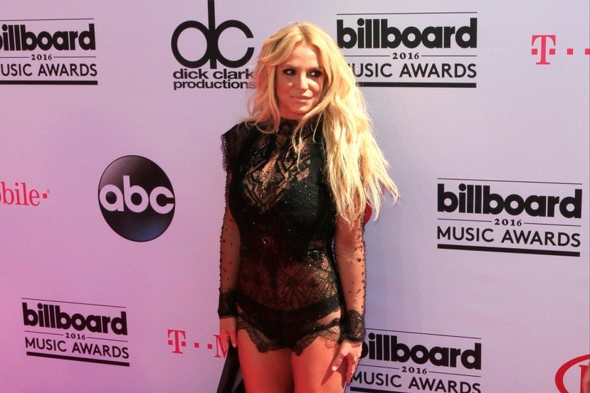 epa05324427 US musician Britney Spears arrives for the 2016 Billboard Music Awards at the T-Mobile Arena in Las Vegas, Nevada, USA, 22 May 2016. The Billboard Music Awards finalists are based on US year-end chart performance, sales, number of downloads and total airplay. EFE/NINA PROMMER