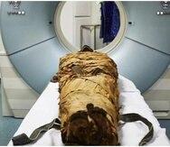 A la momia se le hicieron varias pruebas. (Nature)