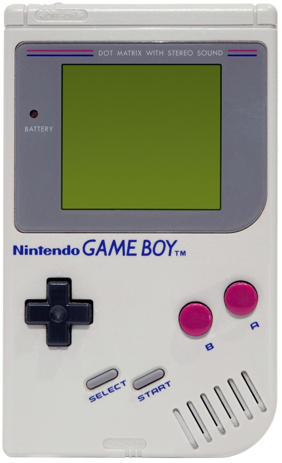 La videoconsola portátil Game Boy, desarrollada por Nintendo, debutó en 1989. (Archivo GFR Media)