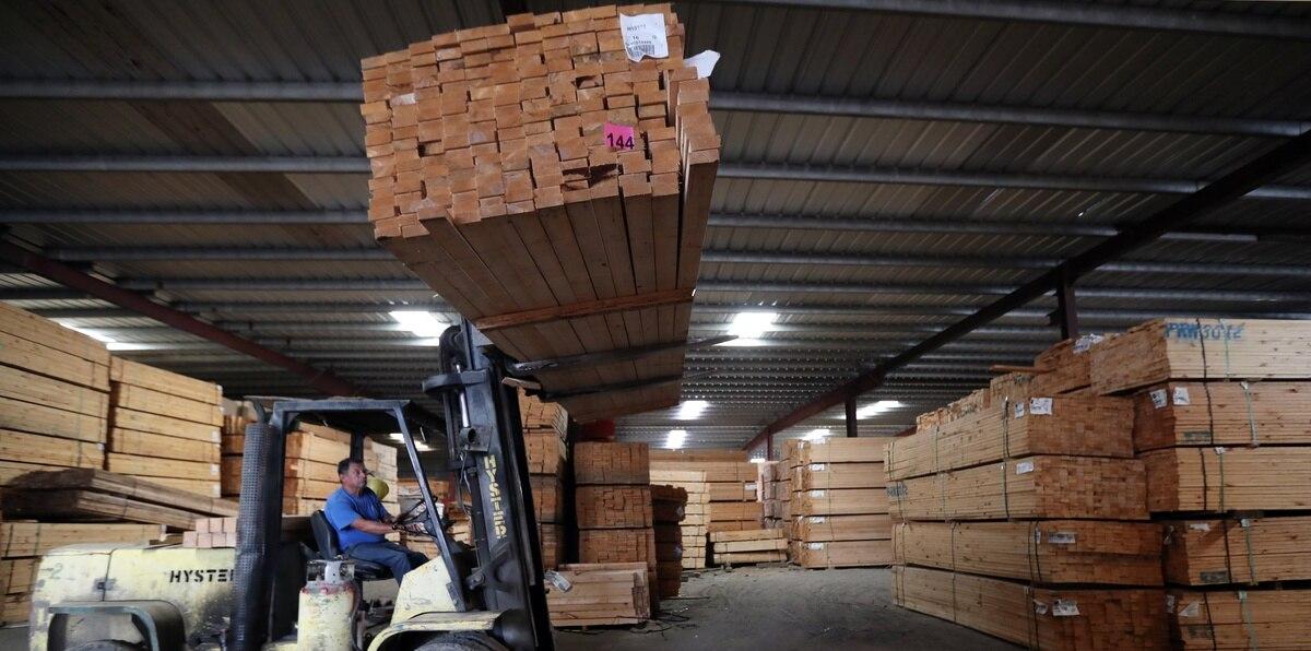 El precio de la madera ha subido cinco o seis veces a lo que estaba en enero de 2020. Algo similar pasa con el acero, el cobre, PVC, las tuberías.