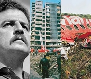 Todos ocurrieron en el 1989 justo cuando el gobierno de Colombia intentaba ganar la guerra contra el cartel de Medellín. (Fotomontaje)