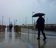 El SNM en San Juan registró ayer, sábado, entre una a dos pulgadas de acumulación de lluvia en San Juan y sectores del interior de Puerto Rico.