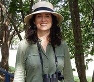 """Adrianne Tossas Cavalliery quiere traer las antenas del sistema Motus  al Caribe para """"llenar vacíos de información"""" que han surgido en los estudios de aves que ya se realizan con esta tecnología en Canadá y Estados Unidos."""