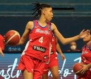 Arielle González es una de las jugadoras que está debutando con el Equipo Nacional durante este Centrobasket.