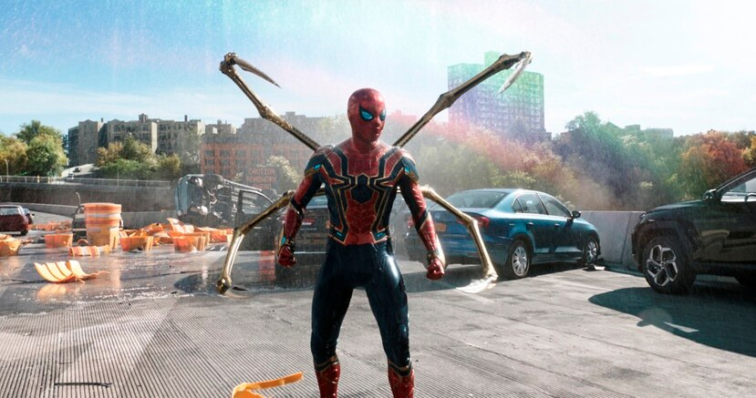"Junto a Tom Holland regresa Zendaya, que ya apareció en ""Spider-Man: Homecoming"" (2017) y ""Spider-Man: Far from Home"" (2019)."