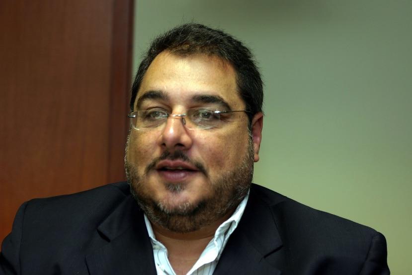 Luis Gierbolini, presidente de la Cámara de Comercio de Puerto Rico.