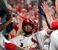 Yadier Molina y los Cardinals atraviesan una impresionante racha de 17 victorias para asegurar el segundo comodín de la Liga Nacional.