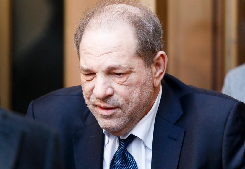 Un jurado de Nueva York declaró culpable a Harvey Weinstein por violar a una aspirante a actriz en 2013 en la habitación de un hotel de Manhattan.