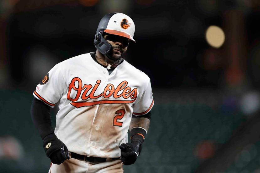 Jonathan Villar jugó los 162 encuentros de este año y lideró a los Orioles con 176 hits, cinco triples y 40 robos. (AP)
