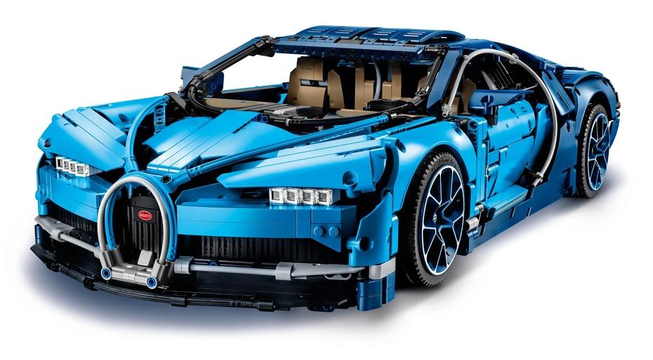 Modelo a escala Lego Technic Bugatti Chiron. (Suministrada)