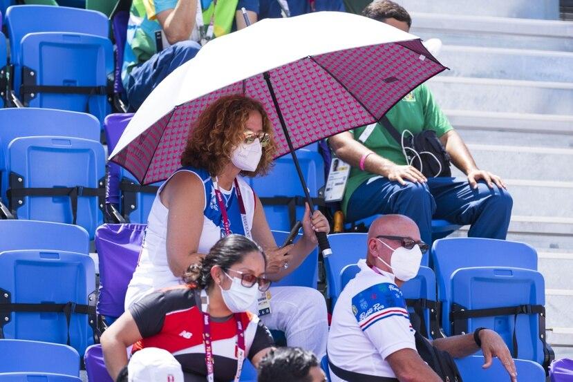 La presidenta del Comité Olímpico local, Sara Rosario, dijo que esta situación pudo haberse evitado si la Asociación Antidopaje de Puerto Rico hubiera realizado las pruebas de dopaje antes de que los atletas salieran hacia a Tokio.
