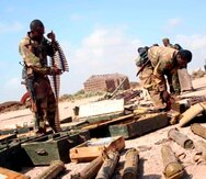 Soldados etíopes. EFE/Ibrahim Elmi/Archivo