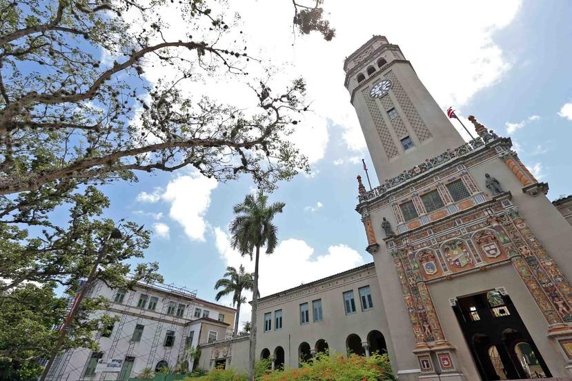 El recinto de Río Piedras de la Universidad de Puerto Rico. (GFR Media)