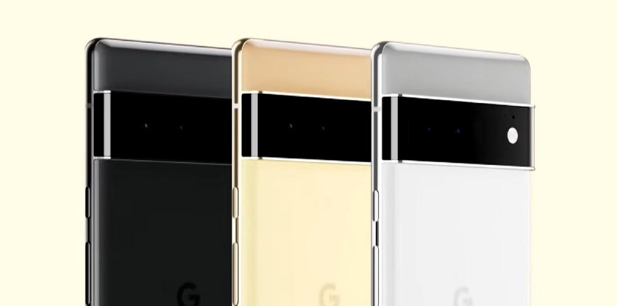 Captura de la presentación oficial de Google mostrando el nuevo Pixel 6 Pro.