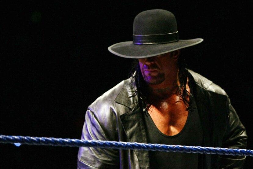 The Undertaker en una cartelera en Puerto Rico en el 2007. (Archivo)