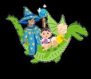 El cuento infantil narra las aventuras de dos bebés, Sebastián y Victoria, que descubren gérmenes en un castillo, donde un Gran Mago que les alerta sobre el malvado neumococo y de un amigo, Sparky el Dragón, que les acompaña en la búsqueda de la protección que necesitan.