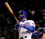 Javier Báez la saca del parque otra vez para empatar el segundo partido de los Cubs ante los Dodgers