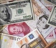 El dólar de Estados Unidos, la libra de esterlina de Gran Bretaña, el yuan de China, el yen de Japón y el euro, este último usado por 19 países de la Comunidad Europea, son las monedas más sólidas del mundo. (GFR Media)