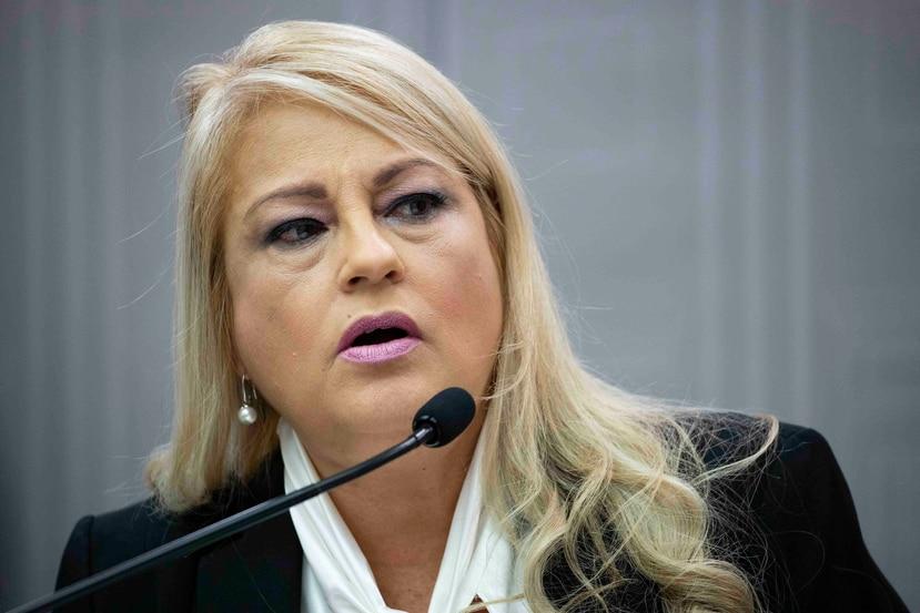 La gobernadora Wanda Vázquez Garced. (GFR Media)