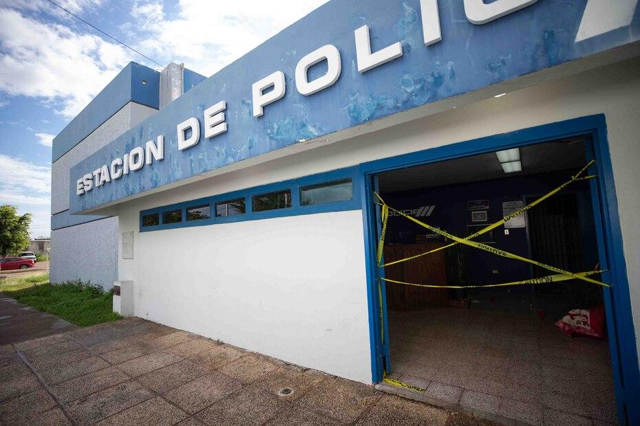 El cuartel de la Policía del Precinto de Ponce sufrió daños significativos tras los terremotos que estremecieron a la isla el 7 de enero.