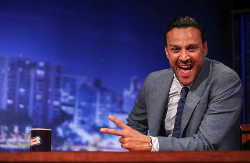 El comediante Francis Rosas estrenó el pasado lunes su propio programa nocturno por TeleOnce.