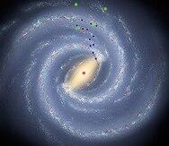 """Astrónomos hallan la más distante """"hermana"""" de la Vía Láctea"""