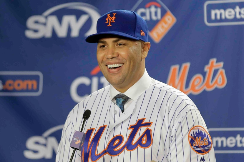 Carlos Beltrán asume las riendas como dirigente de los Mets tras apenas pasar dos años en el retiro. (AP)