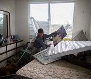 Vecinos de Culebra relatan cómo pasaron el huracán