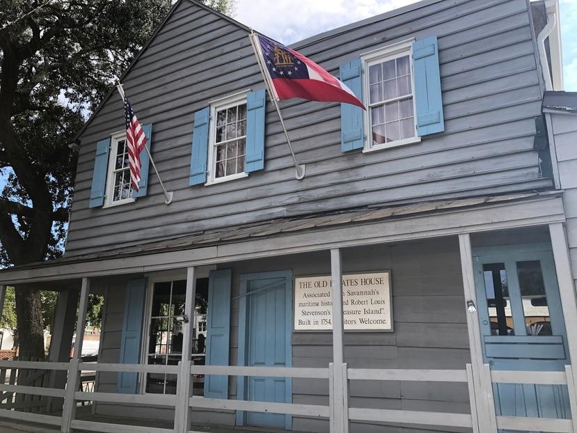 Antigua Casa de Piratas en Savannah, Georgia. (Gregorio Mayí /  Especial GFR Media)