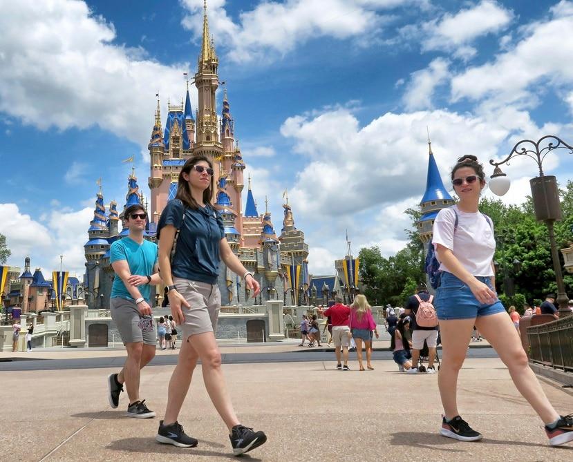 Walt Disney World, en Lake Buena Vista, Florida, el 17 de mayo de 2021.