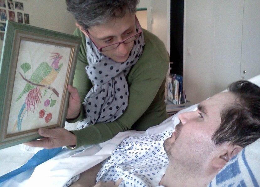 Un accidente automovilístico en 2008 dejó a Lambert en estado vegetativo. (EFE)