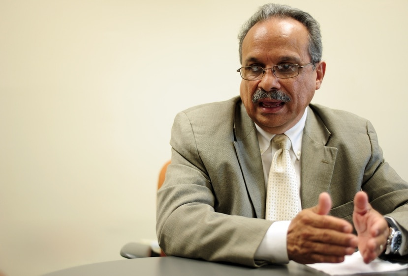 El licenciado Héctor Rivera Cruz.
