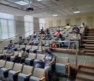 El Recinto Universitario de Mayagüez de la UPR inició las clases ayer, con una matrícula de 12,185 estudiantes.