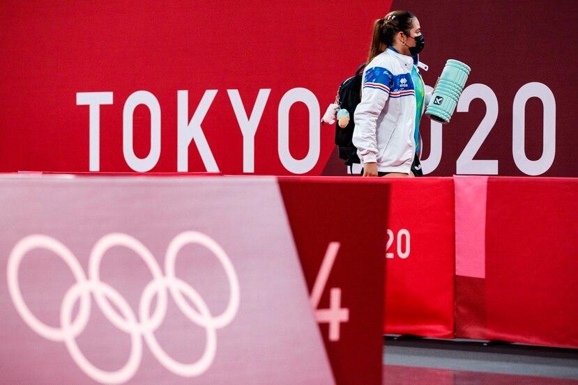 La abanderada Adriana Díaz se despidió de los Juegos Olímpicos sin ninguna victoria luego de perder en su primer partido ante la austriaca Jia Liu.