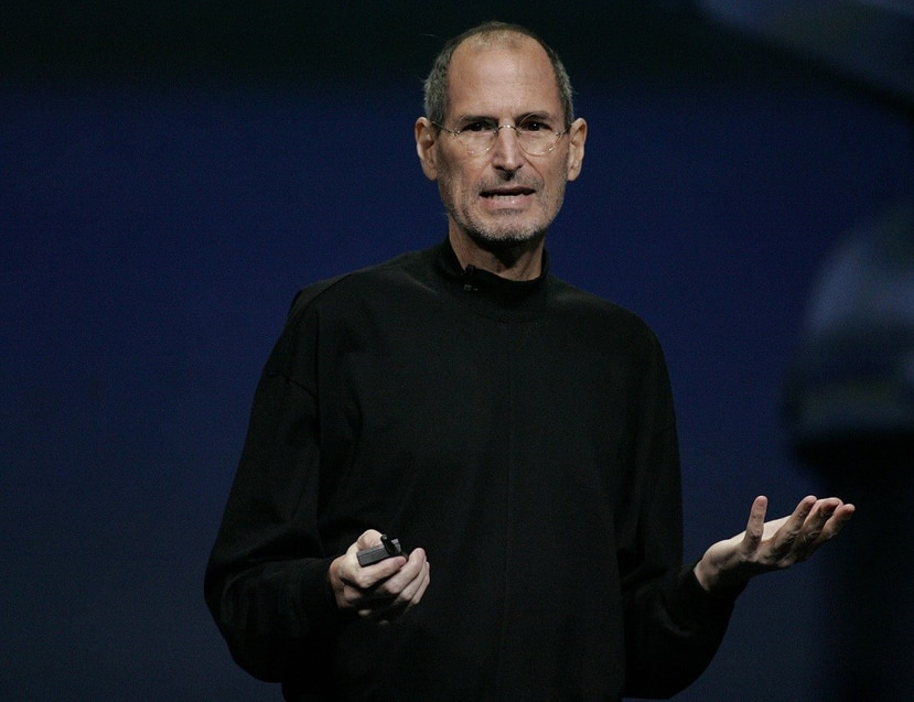 El nombre de Steve Jobs se convirtió en una marca de ropa italiana de gran reconocimiento. (EFE)