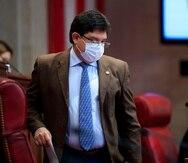Javier Aponte Dalmau, portavoz del Partido Popular Democrático en el Senado.